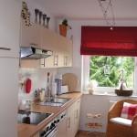 Дизайн штор для кухни 67