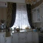 Дизайн штор для кухни 68