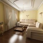 Проект дизайна гостиной 2