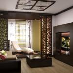 Проект дизайна гостиной 3