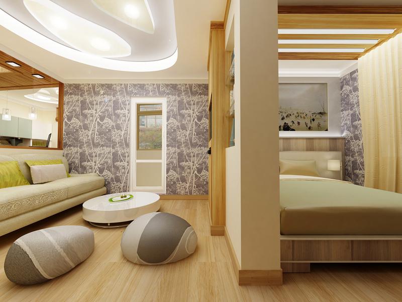 дизайн-спальни-гостиной14