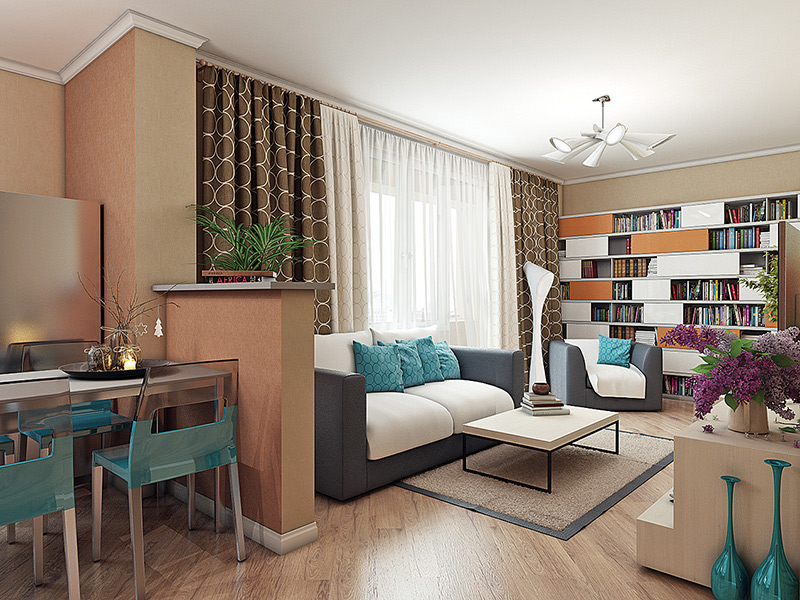 Дизайн квартиры 30