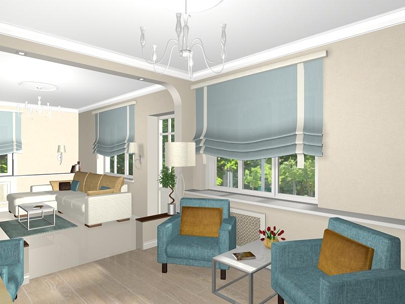 Дизайн квартиры 35