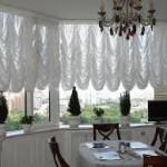 Дизайн штор для кухни 79
