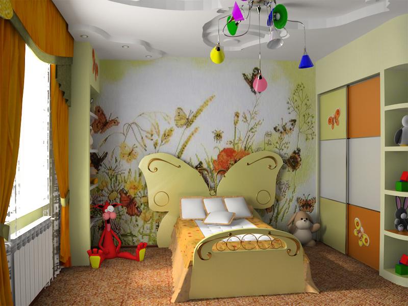 картинки-детской-комнаты-для-девочки