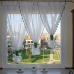 Варианты дизайна штор для кухни 2