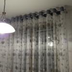 Идея дизайна штор для кухни 117