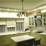 Идея дизайна штор для кухни 121