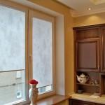 Идея дизайна штор для кухни 124