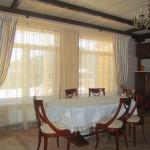 Идея дизайна штор для кухни 128