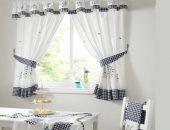 Текстильные шторы для кухни