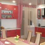 Дизайн штор для кухни с балконом 9