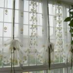 Дизайн штор для кухни 11