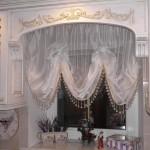 Идея дизайна штор для кухни 137
