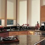 Дизайн штор для кухни 103