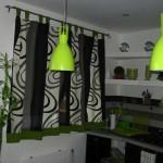 Дизайн штор для кухни 104