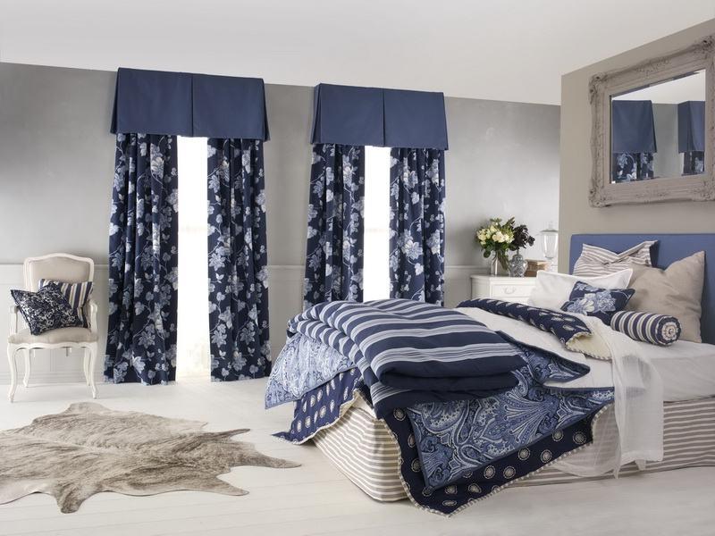 Шторы для спальни — модные новинки