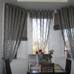 Варианты дизайна штор для кухни 6
