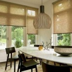 Идея дизайна штор для кухни 144