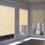 Идея дизайна штор для кухни 148