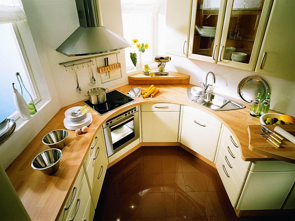 П образная планировка кухни