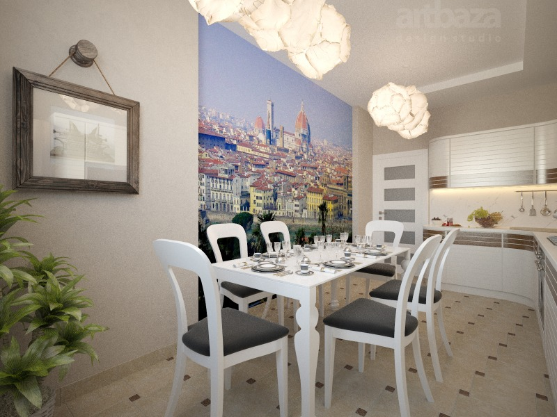 Дизайн интерьера кухни (1)
