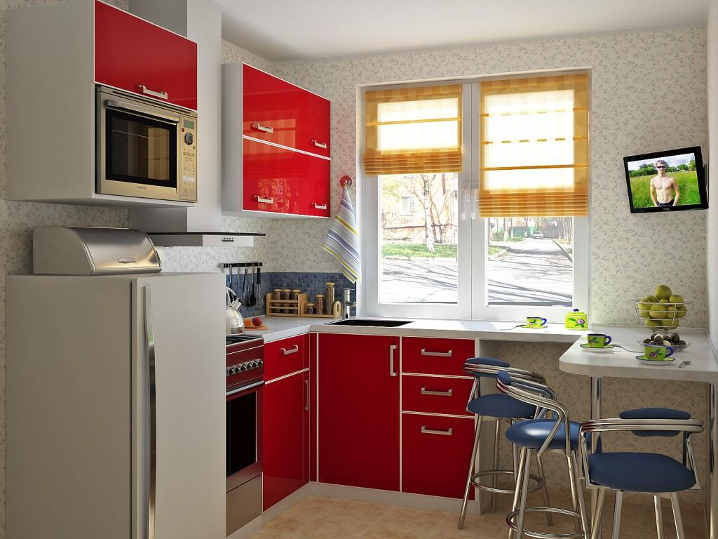 Дизайн маленькой кухни: фото, идеи по оформлению
