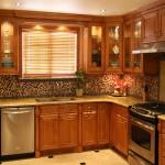 Вариант оформления кухни 5