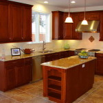 Вариант оформления кухни 15
