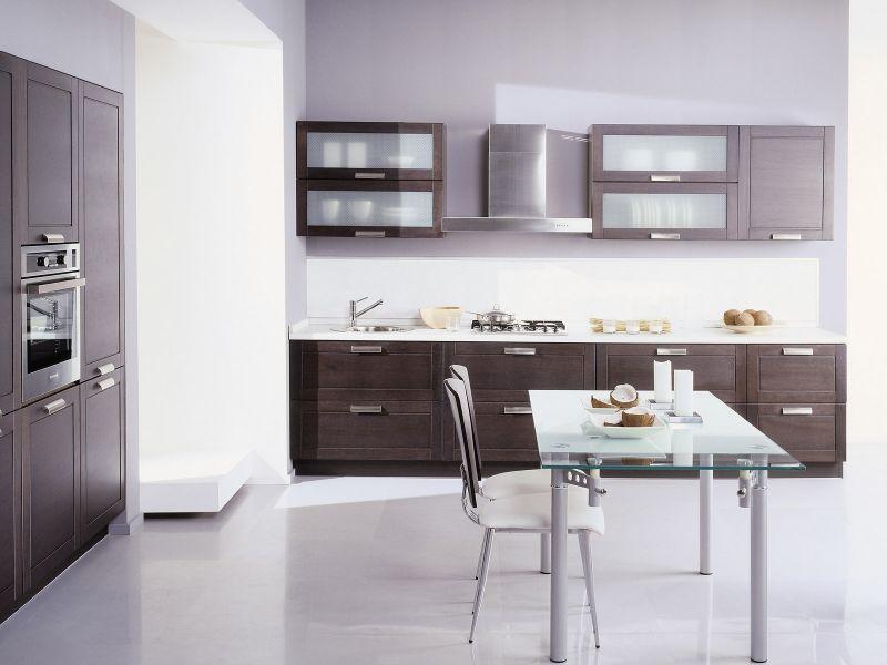 Кухня ИКЕА цвета венге