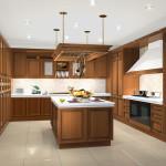 Современный интерьер кухни 13