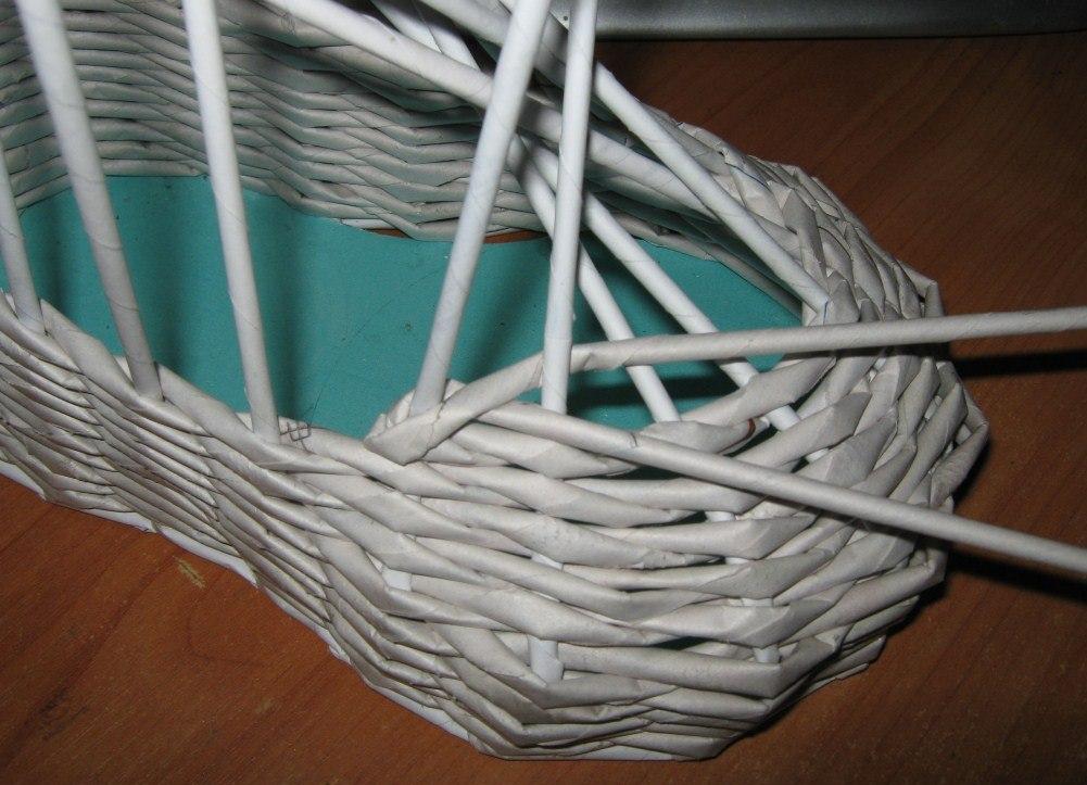 Плетение стенок