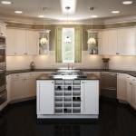 Идея современного дизайн кухни 15