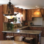 Идея современного дизайн кухни 17