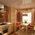 Идея дизайна кухни 22