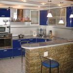 Идея современного дизайн кухни 22