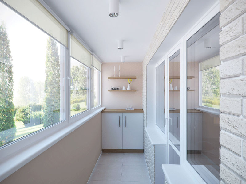 Дизайн балкона — популярные идеи с фото