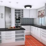 Вариант оформления кухни 6