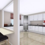 Вариант оформления кухни 7