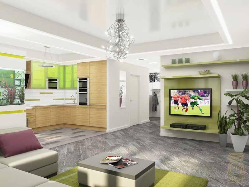 kitchen-modern-white-green