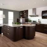 Вариант дизайна кухни венге