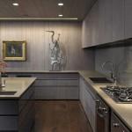 Современный интерьер кухни 18
