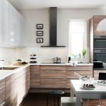 Дизайн угловой кухни 2017