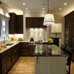 Идея современного дизайн кухни 7