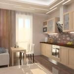 Современный интерьер кухни 30