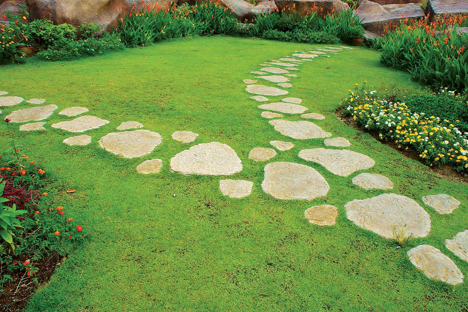 Садовые дорожки своими руками, лучшие фото идеи дорожек: из камня, бетона, дерева и пластика.
