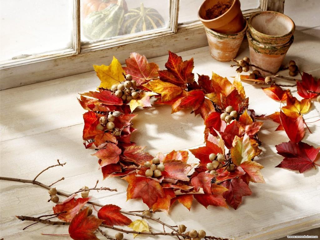Ветки и листья своими руками фото 688