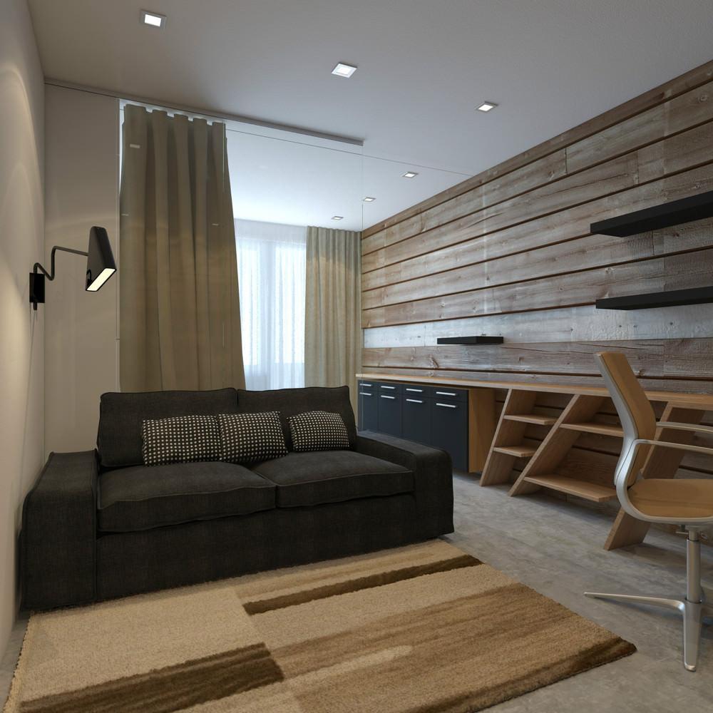 Однокомнатной квартиры дизайн 22