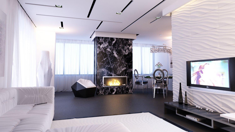 Однокомнатной квартиры дизайн 27