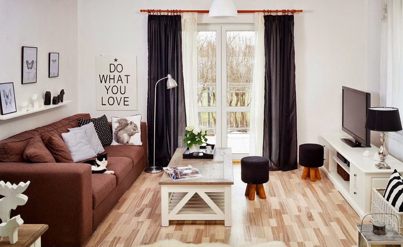 Однокомнатной квартиры дизайн 29